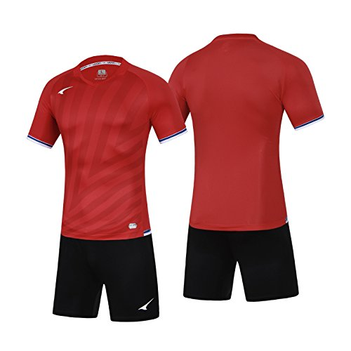 6176d0f74 Amazon.com   Ucan Soccer Jersey Short Custom Men Soccer Uniform Football  Team Set S07406   Sports   Outdoors