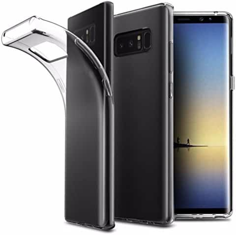 For Samsung Galaxy Note 8, Mchoice Ultra Slim Lightweight Transparent Soft Gel TPU Silicone Case Cover