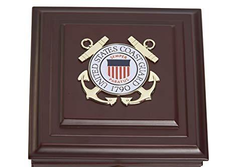 Allied Frame US Coast Guard Medallion Desktop Box