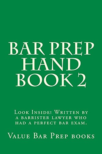 Descargar Libro Bar Prep Hand Book 2: A Jide Obi Law Book Barristerbarprep Com