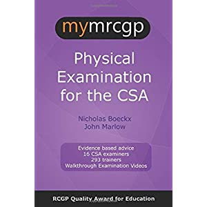 mymrcgp Physical Examination for the CSA Paperback – 3 Oct. 2019