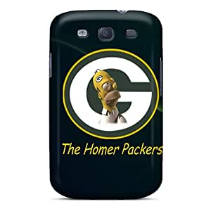 Top Quality Case Cover For Galaxy S3 Case With Nice Green Bay Packers Appearance