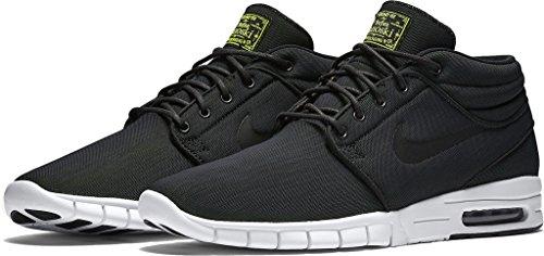 Nike Heren Bruin Mid Toevallige Schoen Zwart Donkergrijs Wit 007