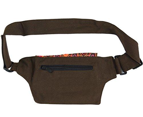 Borsa Laterale In Tessuto E Custodia Per Cintura, Custodia Per Cintura Goa / Sidebags E Tasche Per Cintura