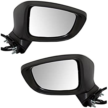 10-13 Mazda3 Power Non-Heat w//o Signal Lamp Fold Mirror Left Right Side SET PAIR