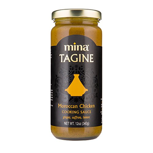 Mina Tagine Moroccan Chicken Simmer Sauce, 12 Ounce