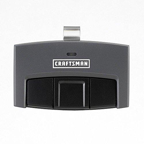 Craftsman Assurelink 3 button visor remote control 41a7633 (Craftsman 3 4 Hp Garage Door Opener Remote)