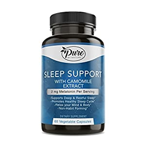 Pure by Nature Sleep Well, 60 Count
