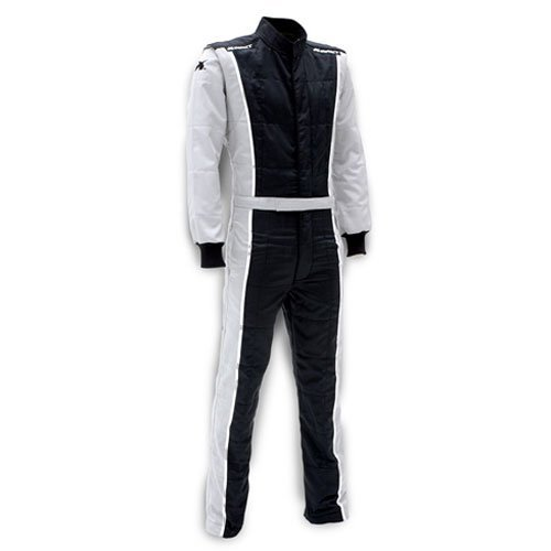 - Impact Racing 24215413 Racer Suit SFI 3.2A/5 Rated Grey & Black