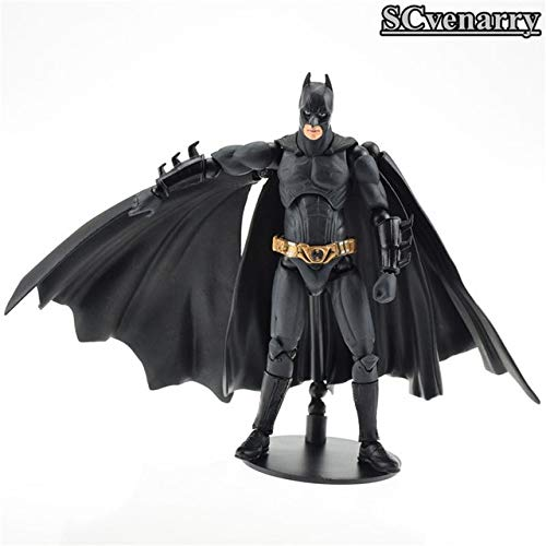 VIET FG Batman Figure Sci-Firevoltech Series No.008 Action Figure Justice League Mobile Toys The Dark Knight Rises Christmas Toy 16cm- Gift for Your Kids
