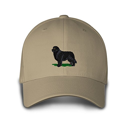 Newfoundland Dogs Pets Embroidery Adjustable Structured Baseball Hat - Baseball Cap Newfoundland