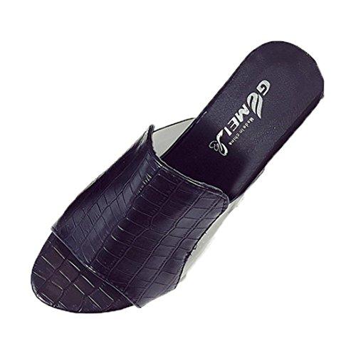 Women Thick Heels Slippers,Toponly Women Summer