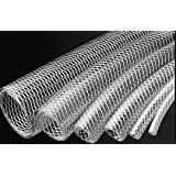 """Clear Flexible PVC Tubing, HD, UV, Chemical Resistant, Water &Oil / FDA Approved 1/2"""" ID X 30 FT"""