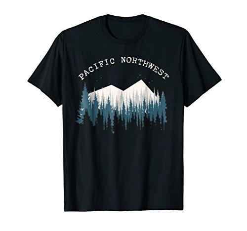 PNW Pacific Northwest North West T Shirt