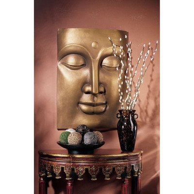 Wall Frieze (Design Toscano The Serene Buddha Grande Wall Frieze)