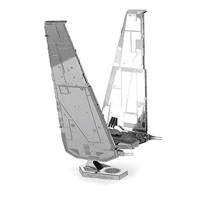 Fascinations Metal Earth Star Wars Force Awakens Kylo Ren's Command Shuttle 3D Metal Model Kit: Varios: Toys & Games