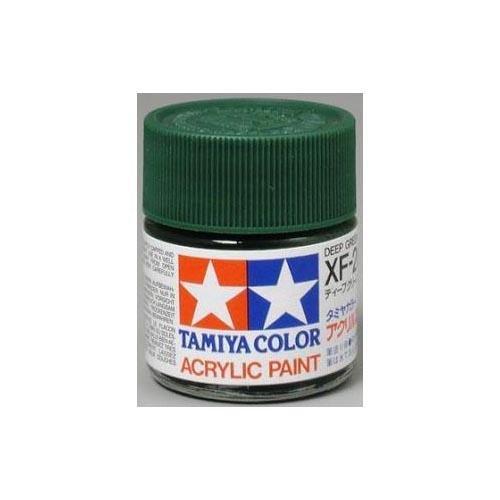 Tamiya Acrylic XF26 Flat, Deep Green