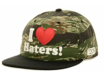 DGK - sucio gueto niños I Love Haters camuflaje verde/negro/rojo ...