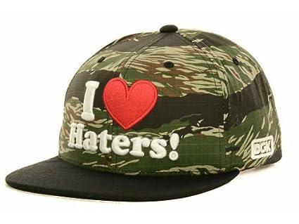 5845da1f04b Amazon.com   Dgk Dirty Ghetto Kids I Love Haters Camo Green Black ...