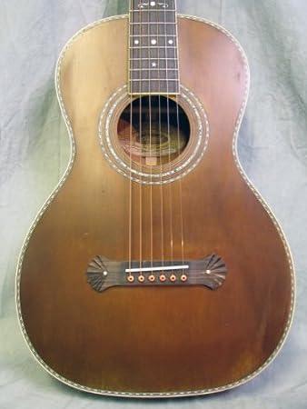 Washburn Vintage R314k Aged Distressed Parlor Acoustic Guitar W Case