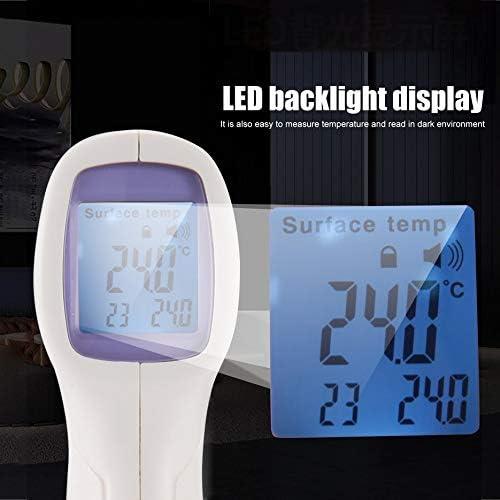 CK-T1501 Medidor de temperatura infrarrojo de mano Term/ómetro de pie Tipo sin contacto Term/ómetro port/átil de alta precisi/ón