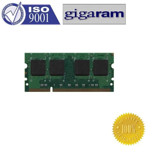Gigaram 4GB Single DDR2 667MHz (PC2-5300) CL5 SODIMM 200-Pin Notebook Memory Module Major IC brand