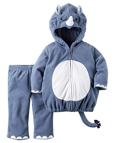 Carter's Baby Boys' Little Rhino Costume (6-9 Months, Rhino)