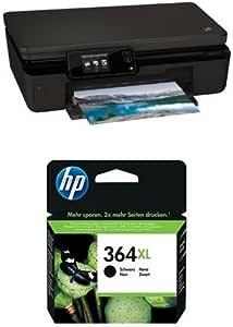 HP Photosmart 5520 Pack - Impresora multifunción + Cartucho de tinta original XL, negro (364): Amazon.es: Informática