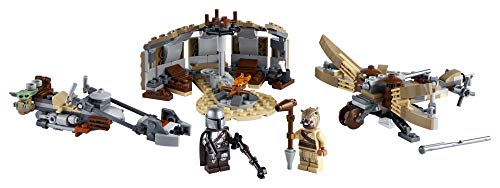 LEGO Star Wars: The Mandalorian Trouble on Tatooine 75299 Awesome Toy Building Kit for Kids Featuring The Child, New…