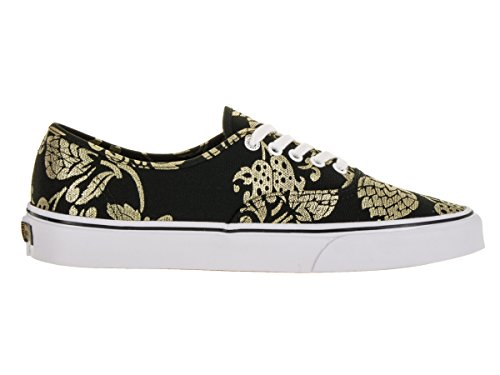 Black Duke Authentic Vans Foil Gold dXwqx51Ex