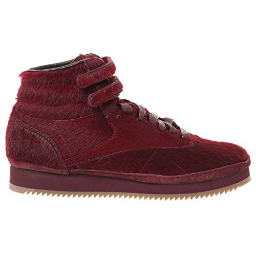 Reebok Freestyle HI Vibram Sneakers - Merlot/Rose Gold - Womens - 9 ()
