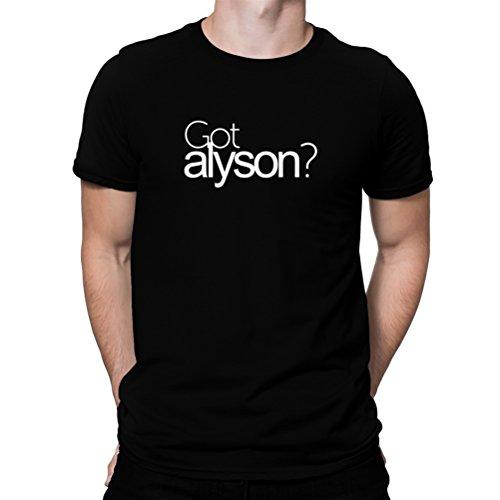 貸す医薬品駐地Got Alyson? Tシャツ