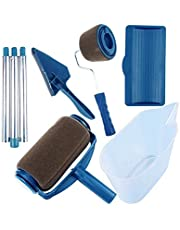 DIY Paint Brush Handle Tool Runner Roller Pro Rollers Wall Painting Kit Walls Set Edger Room Home Garden Extension Pole Tube