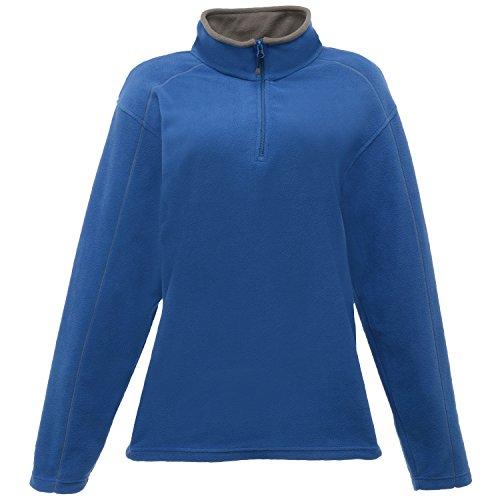 Smokey Standout Ashville Blue Womens Zip Regatta Oxford Fleece Neck 8qSgxxwH1