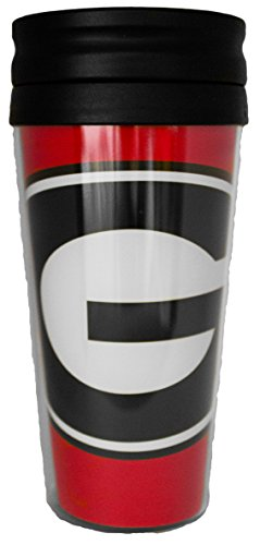 georgia bulldogs travel mug - 5