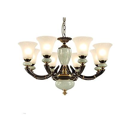 HCJ Retro lampadario cinese, soggiorno camera da letto Lampadario ...