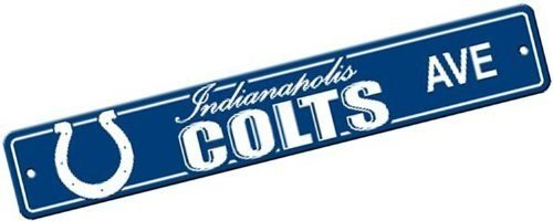 NFL Indianapolis Colts Plastic Street (Indianapolis Colts Decor)