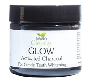 isabella s clearly glow best natural teeth whitening activated charcoal powder bleach. Black Bedroom Furniture Sets. Home Design Ideas