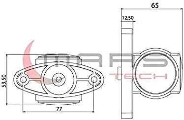tricolore /à LED rouge et blanc feu de position lateral pour remorque camion camionette fourgon chassis caravane tracteur etc. 2 X 12V 24V LED Feux De Gabarit Lateraux Countour 12//24V