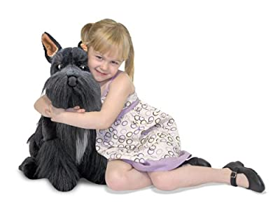Melissa Doug Miniature Schnauzer Plush from Melissa & Doug