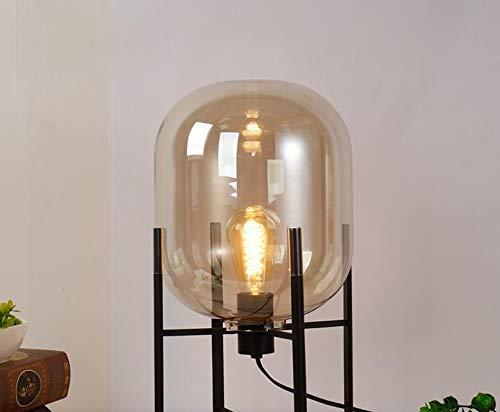 Lámpara de pie de cristal Luces de diseño de moda Lámparas ...