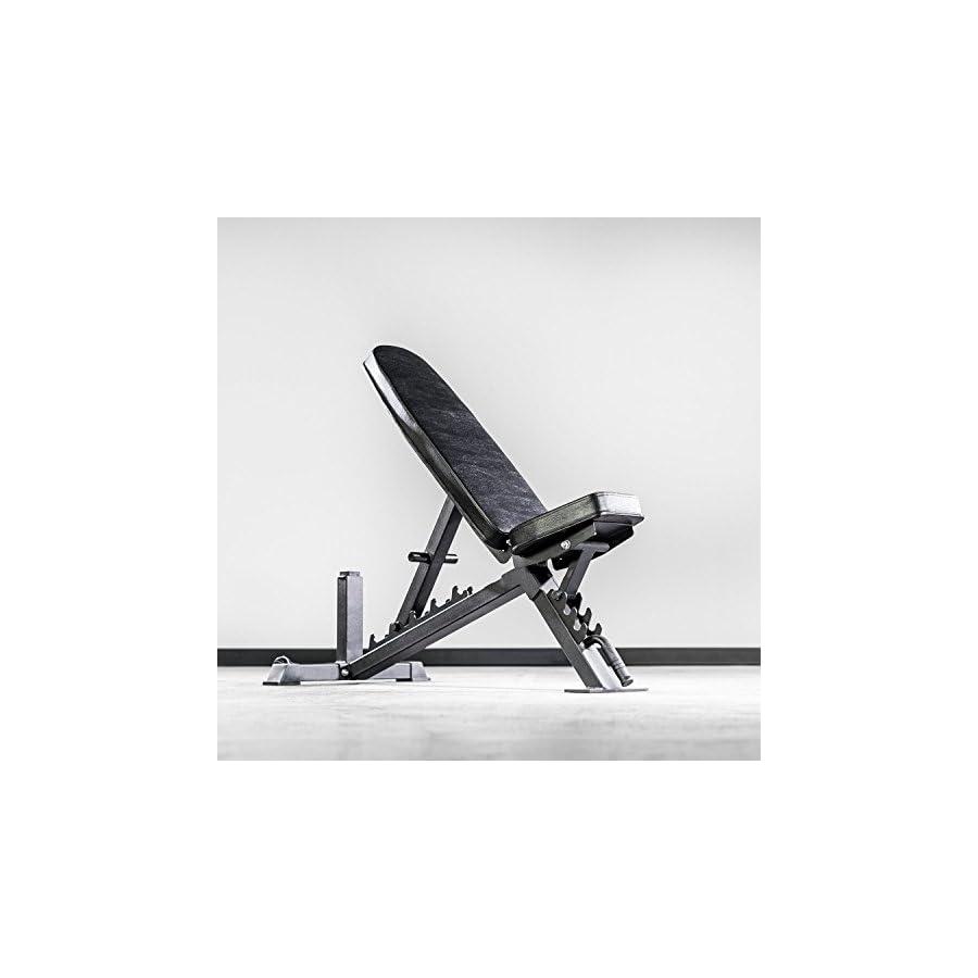 Rep Adjustable Bench, AB 3100 V3 – 1,000 lb Rated, Black