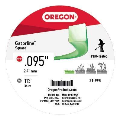 Oregon 21 - 995 Gatorline Cuadrado desbrozadora Line .095 ...