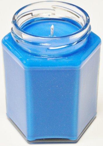 3 Pack 12 oz Squat Hex Soy Candle - Ocean Breeze 12 Oz Hex Jar