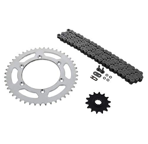 520-112L O Ring Chain and Sprocket Silver 14/47 Suzuki DR-Z400 2000-2003