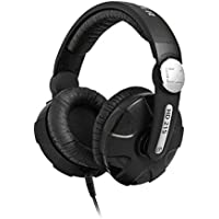Sennheiser HD 215 Extreme DJ Sound Headphones with Swivel Earcup & Detachable Coiled Cable