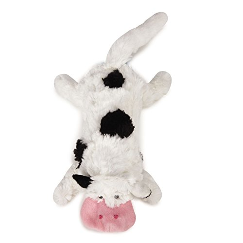 Grriggles Farm Friend Unstuffies Toy, Cow, Large