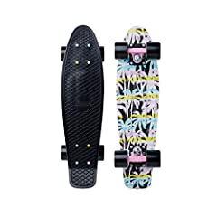 """This authentic 22"""" Penny Skateboard is built for fun. Constructed with our secret plastic formula and high quality components, this cruiser will have you rolling for years to come."""
