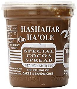 Hashahar (Dairy) Ha'Ole Special Cocoa Spread 16 Oz. Pack Of 3 . ()