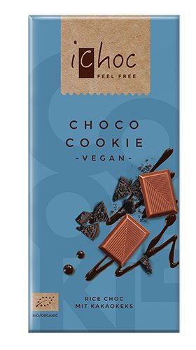 iChoc VEGAN Chocolate Bar 80g - 2.82Oz (White Vanilla)